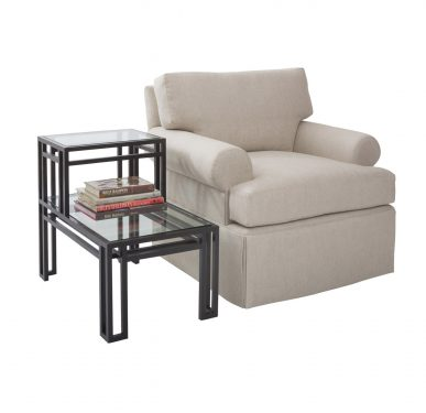 Studio Club Chair and Step Table