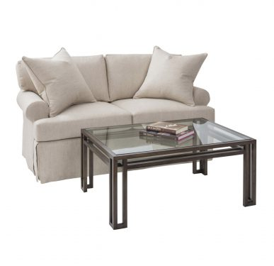 Studio Loveseat and Cocktail Table