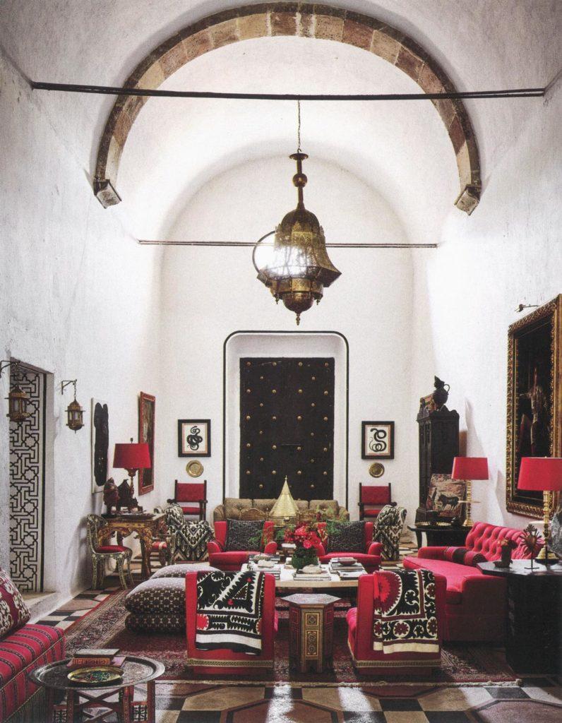 Billy Baldwin Vintage Turkish Pillows featured in San Miguel de Allende by Michelle Nussbaumer, Ceylon et Cie