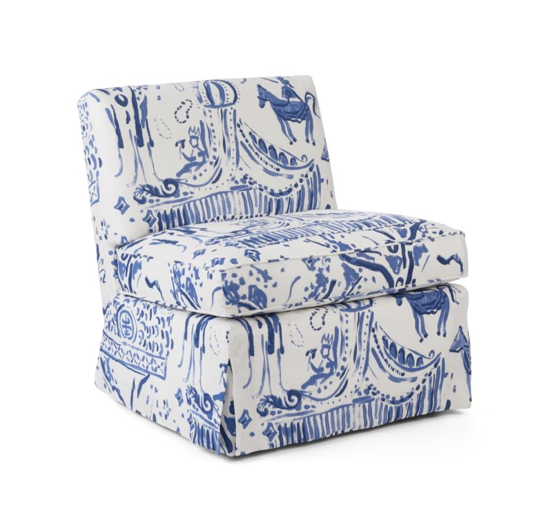 shown in: Palm Orleans Carnival Toile